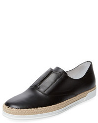 Tod's Leather Slip On Sneaker