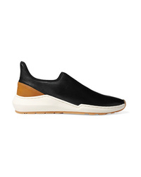 Vince Marlon Leather Slip On Sneakers