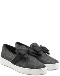 Michael Kors Michl Kors Slip On Sneakers With Grosgrain Bow