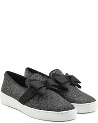 Michael Kors Michl Kors Slip On Sneakers With Grosgrain Bow