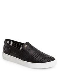MICHAEL Michael Kors Michl Michl Kors Olivia Perforated Leather Slip On Sneaker