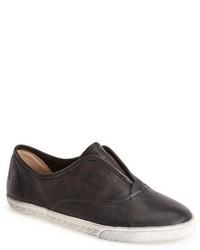 Frye Mindy Slip On Leather Sneaker
