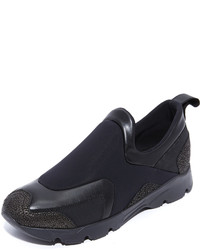 Maison Margiela Mm6 Slip On Sneakers