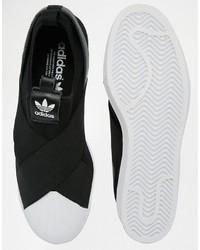 de9d83e6ed34 ... adidas Originals Superstar Slip On Sneakers S81337