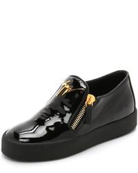Giuseppe Zanotti Patent Leather Sneakers