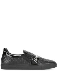Philipp Plein Quilted Slip On Sneakers