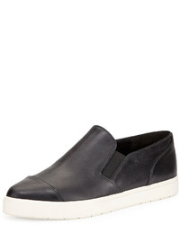 Vince Pyre Leather Sneaker Black