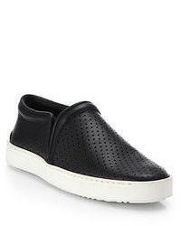 Rag and Bone Rag Bone Kent Perforated Leather Sneakers