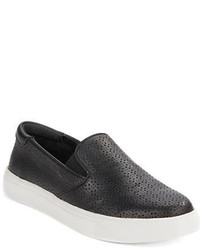 Kenneth Cole Reaction Salt King 2 Leather Slip On Sneakers