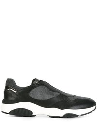 Salvatore Ferragamo Slip On Running Sneakers