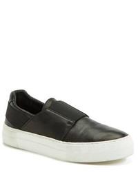 Helmut Lang Slip On Leather Sneaker