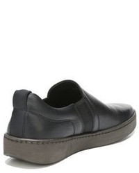 Vince Soren Leather Slip On Sneakers
