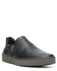 Vince Soren Leather Slip On Sneakers