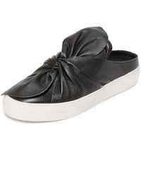 Steven Cal Leather Slip On Sneakers