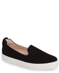 Topshop Temp Slip On Platform Sneaker