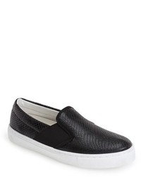 Topshop Tiga Lizard Slip On Skater Shoe