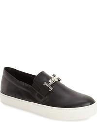 Tod's Double T Platform Slip On Sneaker