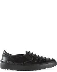 Valentino Garavani Rockstud Slip On Sneakers
