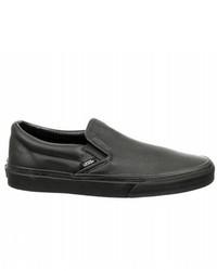 Vans Premium Leather Classic Slip On Sneaker