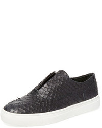 Vince Nelson Leather Slip On Sneaker