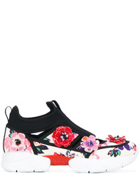 MSGM Flower Applique Sneakers
