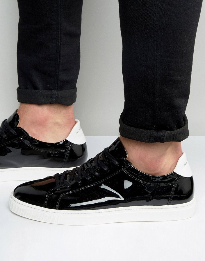 Selected Homme David Patent Leather