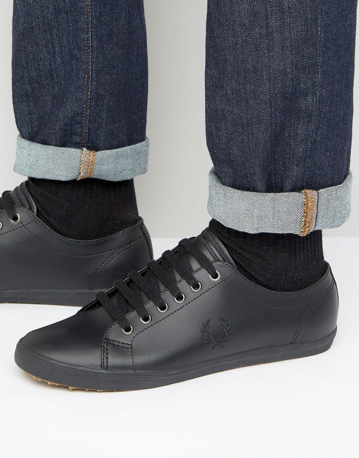 Fred Perry Kingston Leather Sneakers