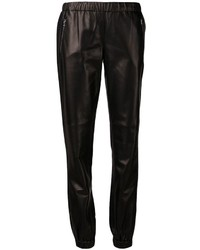 Michael Kors Michl Kors Leather Track Pants