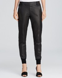 Vince Pants Leather Jogger