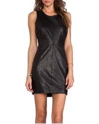 Capulet Leather Dress
