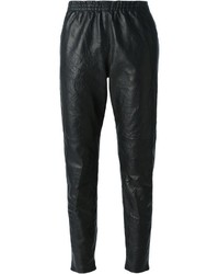 Forte Forte Tapered Leather Trousers
