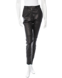 Barbara Bui High Rise Leather Pants W Tags