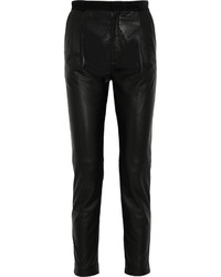 Joseph Tessa Leather Tapered Pants