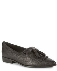 Stuart Weitzman Avatass Point Toe Leather Loafers
