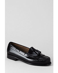 Classic Bass Layton Kiltie Tassel Loafer Shoes Black8