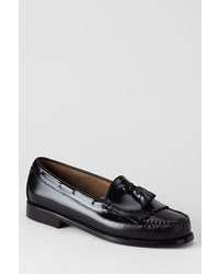Lands' End Bass Layton Kiltie Tassel Loafer Shoes