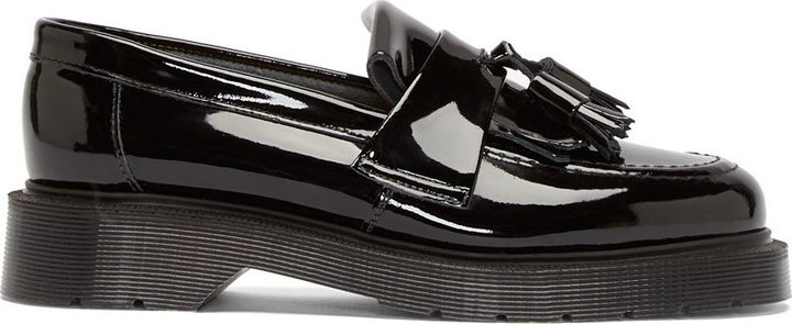 d65c9276745 ... YMC Black Patent Leather Penny Loafers ...