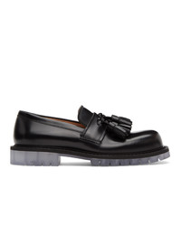 Bottega Veneta Black Tassel Loafers