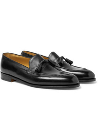 John Lobb Callington Museum Leather Tasselled Loafers