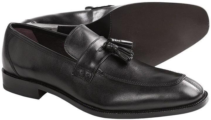 Johnston Murphy Carlock Tassel Loafer Shoes Leather 115 Sierra