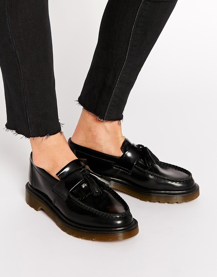 Dr Martens Adrian Tassel Loafers In Black manchester great sale cheap price Qgf7a