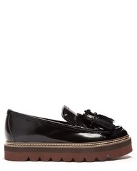 See by Chloe See By Chlo Tassel Leather Flatform Loafers