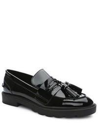 Tahari Sugar Patent Leather Tassel Loafers