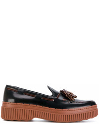 Tod's Tasselled Flatform Loafers
