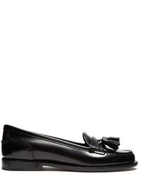 Saint Laurent Universite Tasselled Patent Leather Loafers