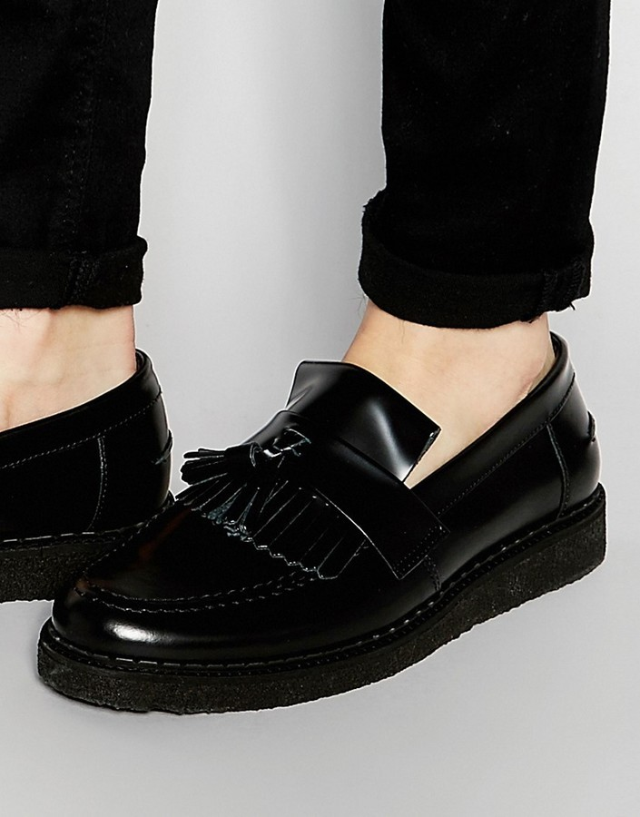 Fred Perry X George Cox Leather Tassel