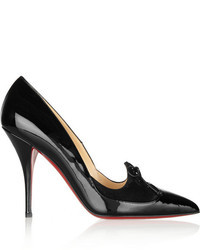 Christian Louboutin Queue De Pie 100 Patent Leather Pumps