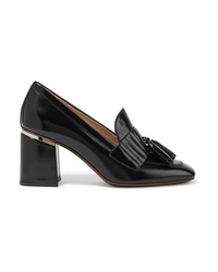 Tod's Tasseled Patent Leather Pumps