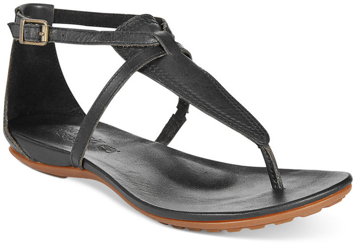 4c0340645313aa ... Timberland Earthkeepers Harbor View Ankle Strap Flat Thong Sandals ...
