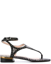 Lanvin Thong Strap Sandals